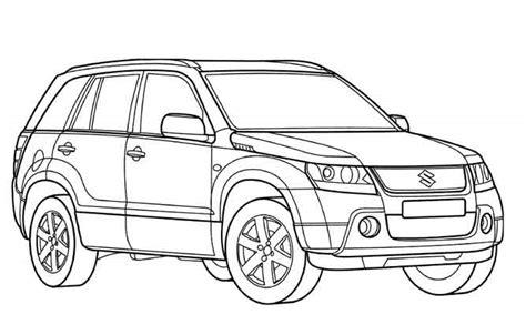 Coloriage Voiture Hummer Coloriage Voiture Toyota A Imprimer L