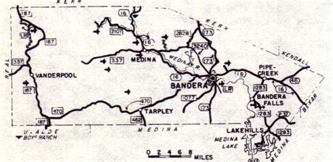 where is bandera texas on map bandera county texas genealogy census vital records