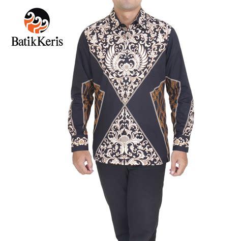 Celana Batik Keris kemeja batik slimfit lengan panjang motif gurda wijaya batik keris