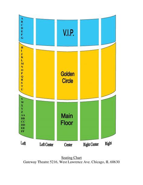 gateway theatre seating plan gateway theatre chicago seating plan