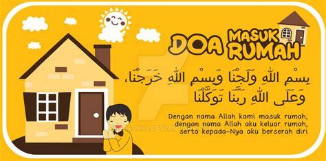 Salam Doa Masuk Rumah 1 doa masuk rumah doa doa shohih diambil dari kitab hisnul