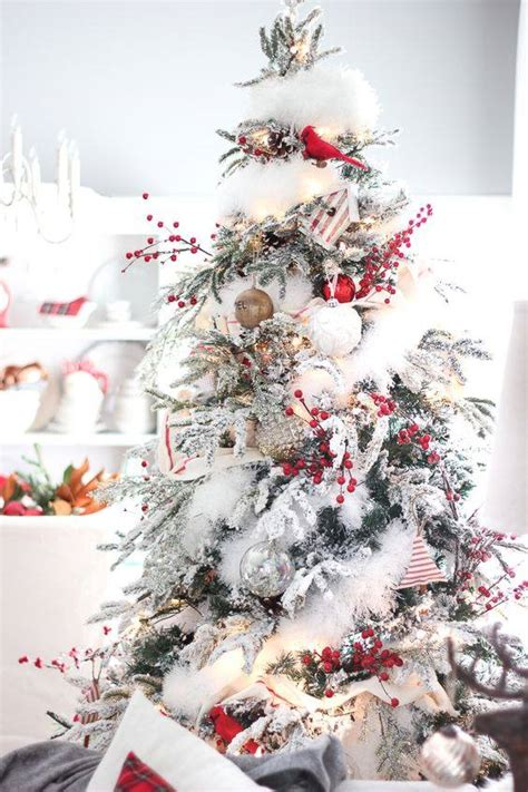 cotton christmas tree 50 ethereal white tree decoration ideas that are to resist