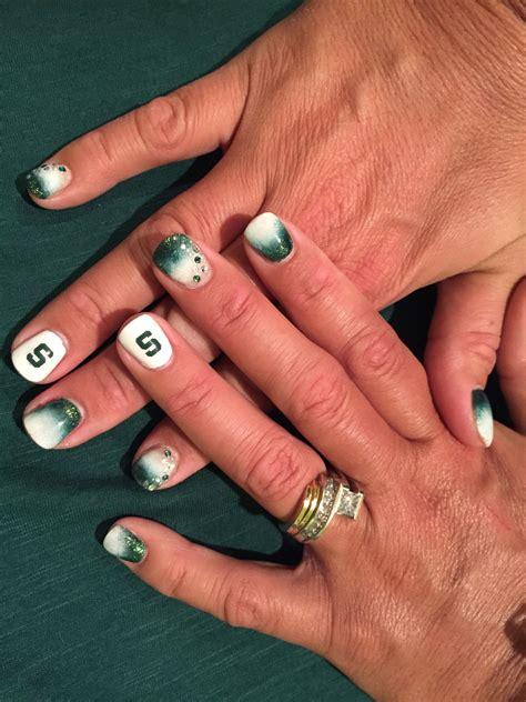 Michigan State Nail msu michigan state spartan nails nails nails