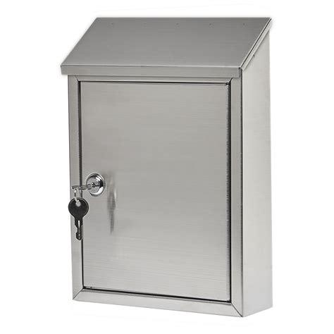 wall mounted locking locking mailbox wall mount mailbox gibraltar