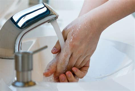 people using the bathroom only five percent of people properly wash their hands