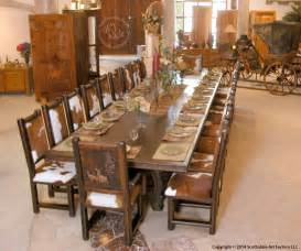 Western Style Dining Room Sets Royal Patina Dining Room Furniture