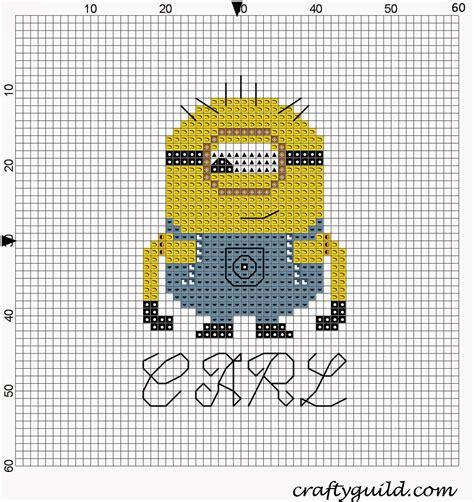 pattern maker for cross stitch youtube carl the minion free cross stitch pattern