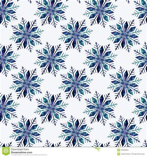 snowflake geometric pattern snowflake seamless pattern stock images image 34346804