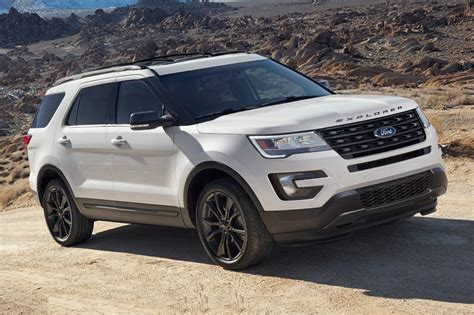 Ford Suv 2017 Ford Explorer Suv Pricing For Sale Edmunds