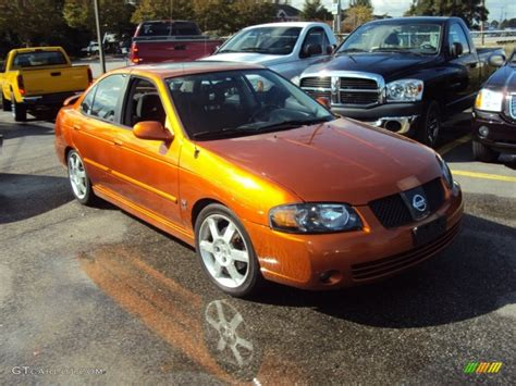 orange nissan sentra 2006 volcanic orange nissan sentra se r spec v 57875570