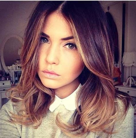 how to ombre shoulder length hair ombre color on short hair the best short hairstyles for