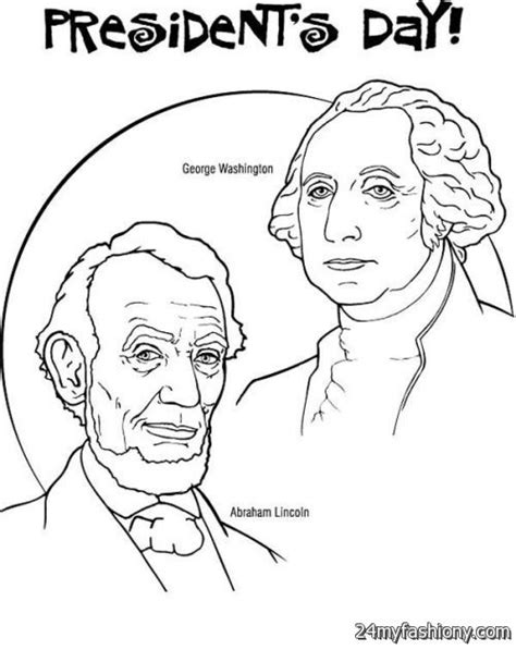 Presidents Coloring Pages by Presidents Day Coloring Worksheets Coloring Pages For
