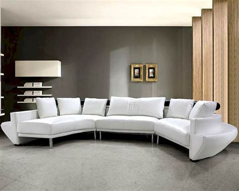 Modern Tufted Leather Sectional Sofa Set 44l0510 Tufted Leather Sofa Set