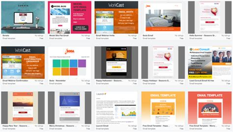 hubspot templates 13 of the best email newsletter templates and resources to