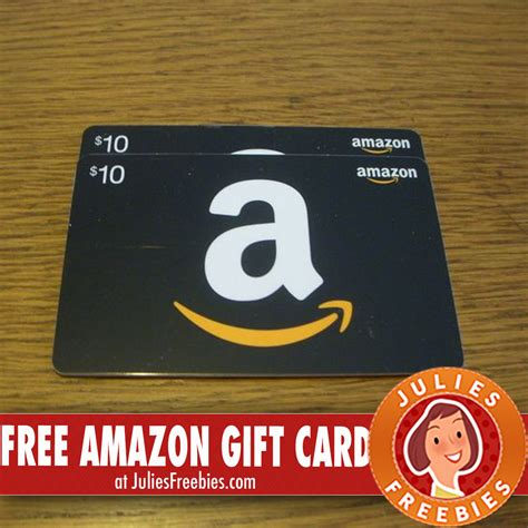 Free Gift Cards Amazon - free amazon gift card julie s freebies