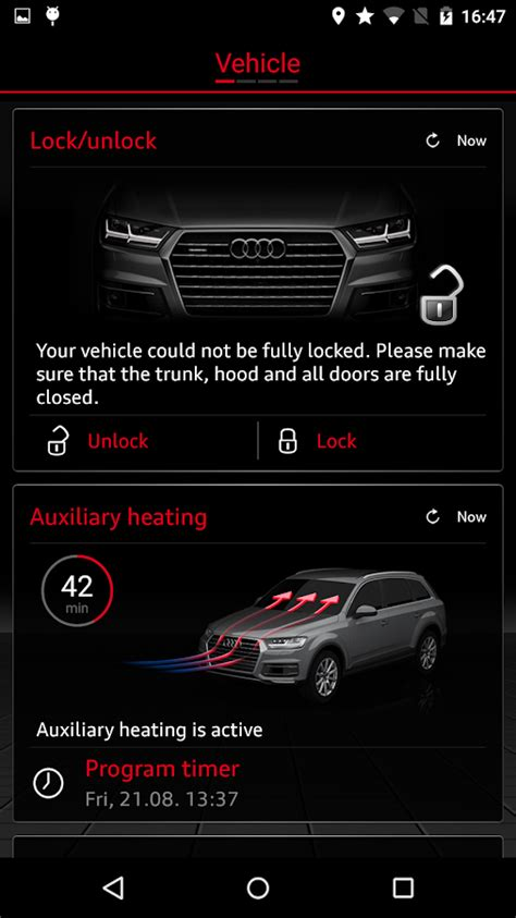 Audi Mmi Connect App audi mmi connect android apps on google play