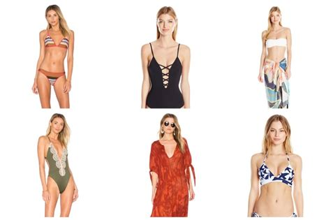 swimwear fashion gone rogue best swimsuits 2017 one pieces bikinis coverups