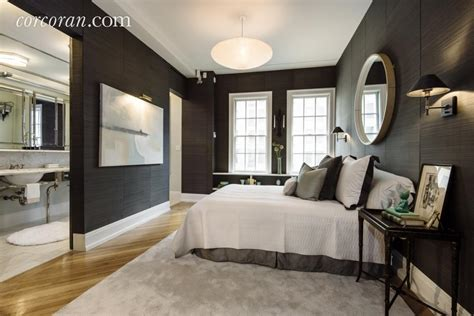 celebrity master bedrooms uma thurman s newly listed 6 25m gramercy duplex comes