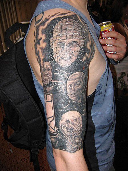 hellraiser tattoo designs 145 best hellraiser tattoos images on horror