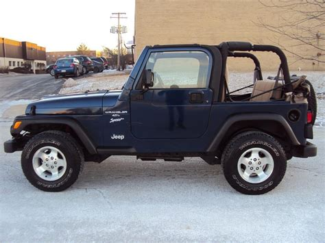 Jeep Wrangler 2002 Highland Motors Chicago Schaumburg Il Used Cars