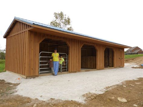 Horse Run Ins And Sheds Portable Horse Barn Manufacturer Hilltop Structures » Home Design 2017