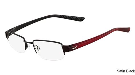 buy nike 8062 semi rimless half frame prescription