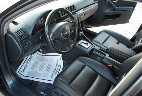 2004 Audi A4 Interior by 2004 Audi A4 Quattro 1 8t Awd 4d Sedan Awd