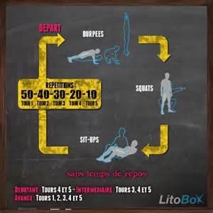 entra 238 nement hict poids de 145 burpees squats