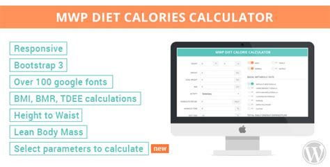 calculator diet mwp diet calories calculator by zuk22 codecanyon