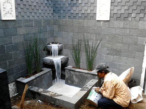 gambar kolam ikan air terjun mini  rumah kolam koi ponds backyard pond design