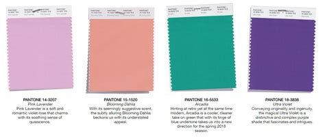 pantone 2017 spring get inspired with pantone s spring color palette for 2018