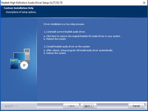 install windows 10 drivers update realtek hd audio driver after upgrade to windows 10