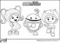 Team Umizoomi Coloring Pages  Colors