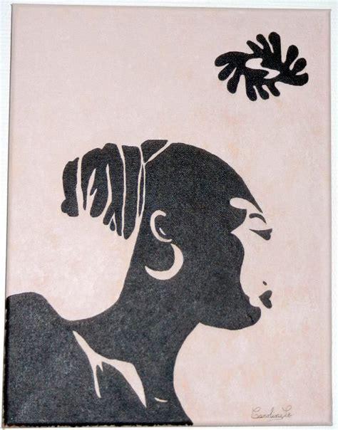 chignon sur le mur 4397 africaine des toiles pour le plaisir
