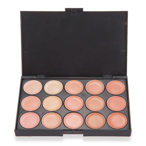 Palette Concealer Paket Kuasspons 15 farben make up concealer abdeckcreme schminke eyeshadow camouflage de ebay
