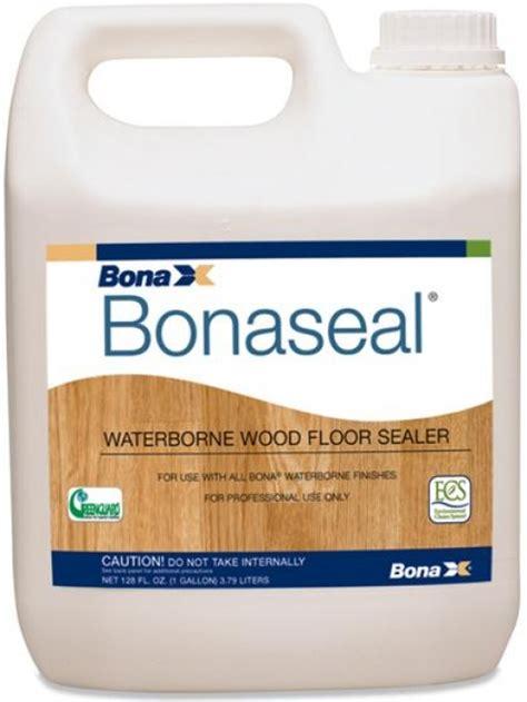 Wood Floor Sealer by Bona Bonaseal Waterborne Wood Floor Sealer 1 Gallon In