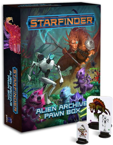 starfinder pawns archive pawn box books paizo starfinder archive pawn box