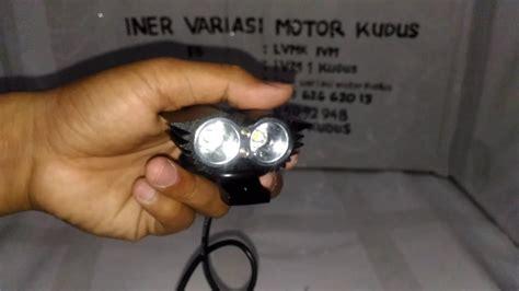 Lu Tembak Variasi Motor lu cree owl 3 mode burung hantu 20 watt sorot putih