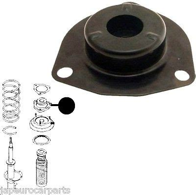 Shock Bagasi Xtrail T30 fits nissan x trail t30 01 07 rear right shock absorber strut mounting complete ebay