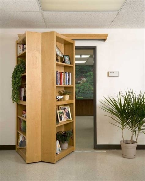 hinged bookcase door woodworking projects plans