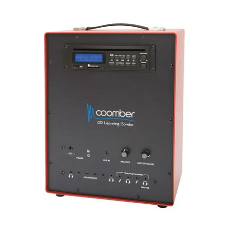 cd cassette player combo coomber 44372 cd learning combo cd and cassette players