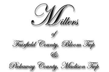 Fairfield County Records Fairfield County Tax Records Pickaway County Tax Records Miller Dna Test