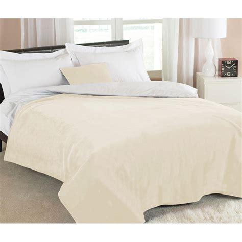 Luxury Sofa Throws by Luxury Plain Dyed Fleece Sofa Bed Blanket Throw Large 200