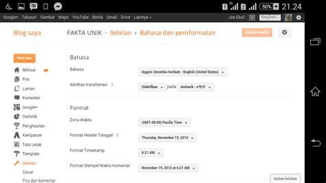 membuat web unik fakta unik cara membuat menu earning muncul di blogg website
