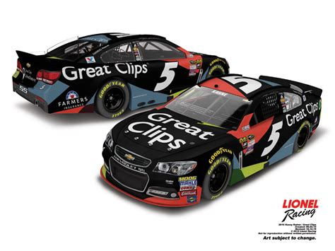2016 great clips 5 off kasey kahne 2016 great clips 1 24 arc diecast