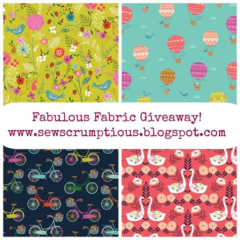 Fabric Giveaway - sew scrumptious fabulous fabric giveaway