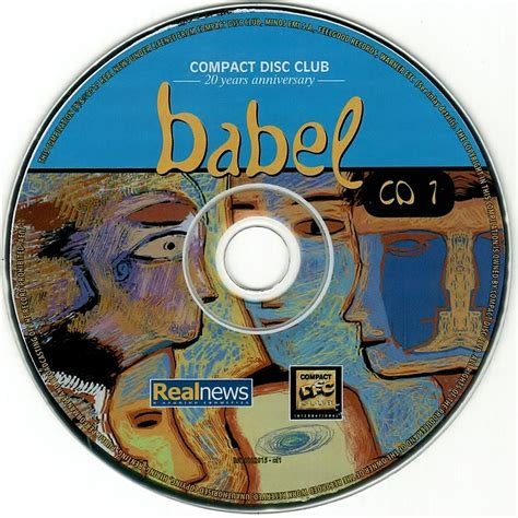 compact disk club compact disc club babel 20 years anniversary cd1