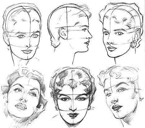 sketchbook zeichnen lernen как нарисовать лицо девушки