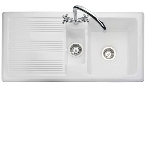 Rangemaster Portland Cpl10102wh Ceramic Sink Kitchen Kitchen Sinks Portland