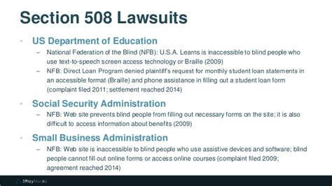 section 508 compliance statement section 508 and 504 video captioning requirements
